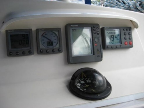 Used Sail Catamaran for Sale 2004 Leopard 47 Electronics & Navigation